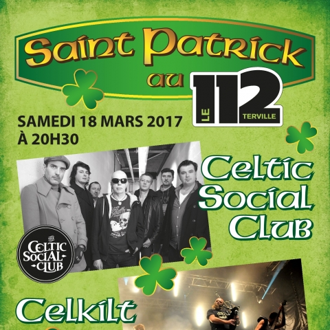 SAINT-PATRICK : CELKILT + CELTIC SOCIAL CLUB