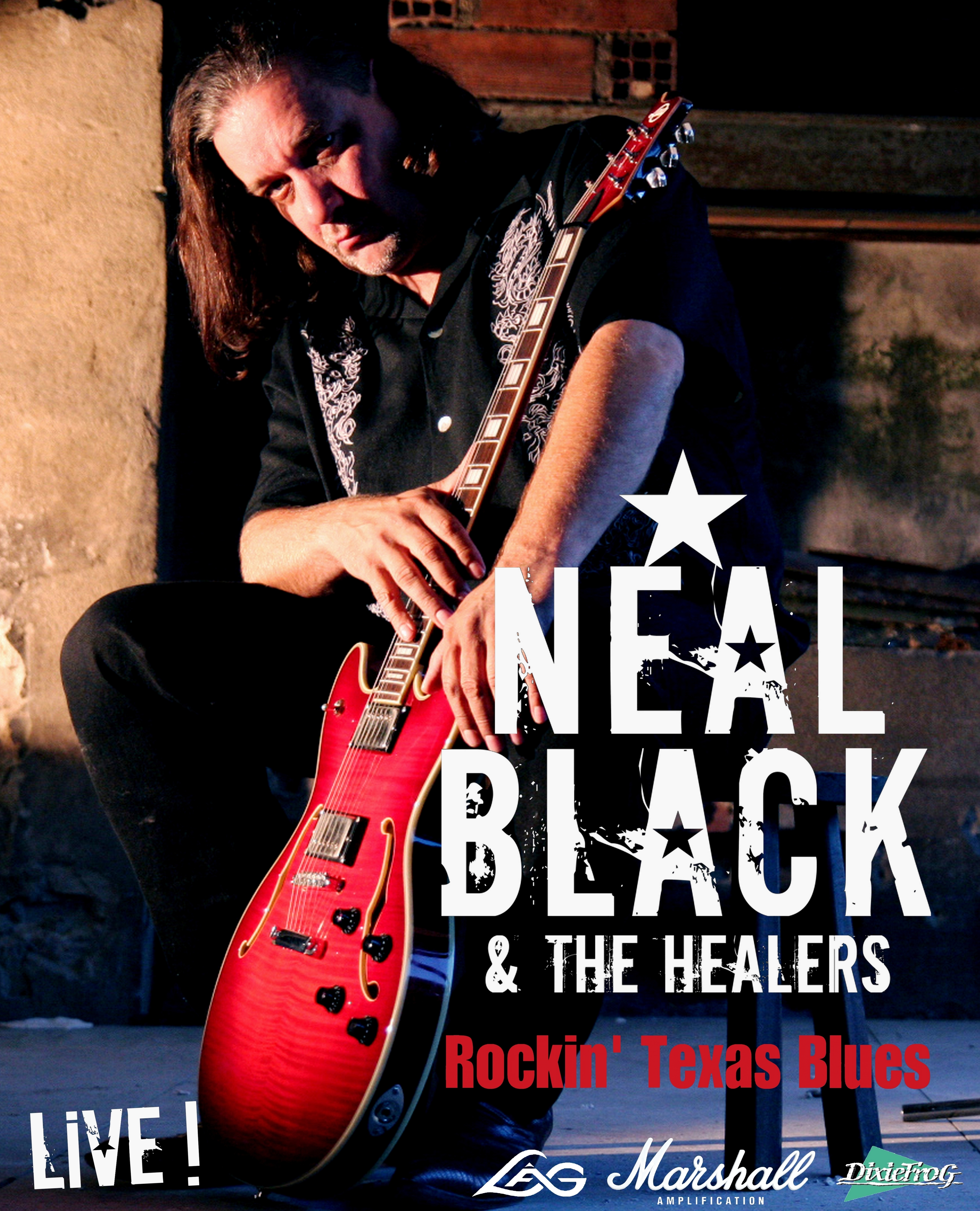 NEAL BLACK & THE HEALERS + Flo Bauer Blues Project