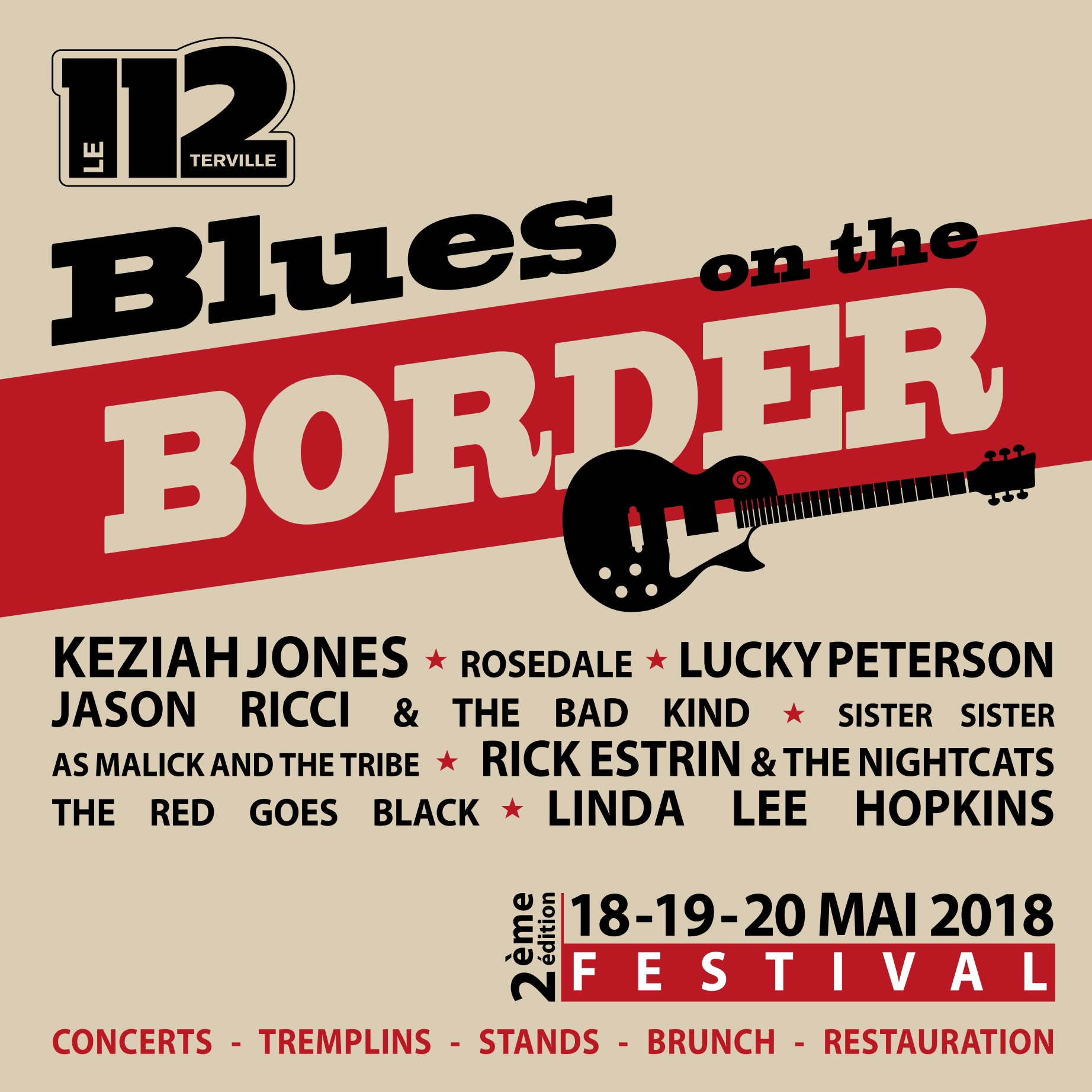 Festival BOB - Rosedale + Red Goes Black + LUCKY PETERSON