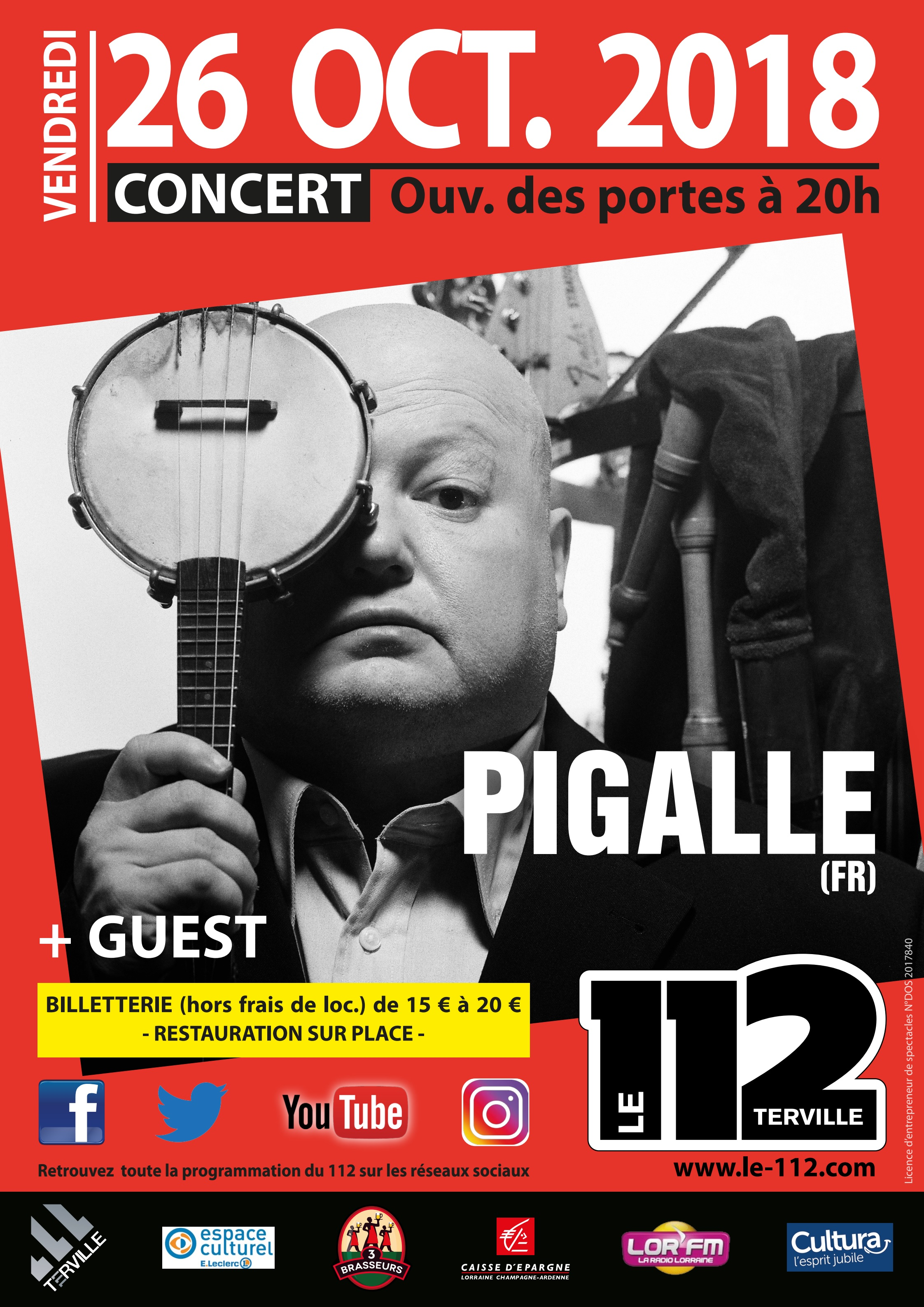 PIGALLE + Guest