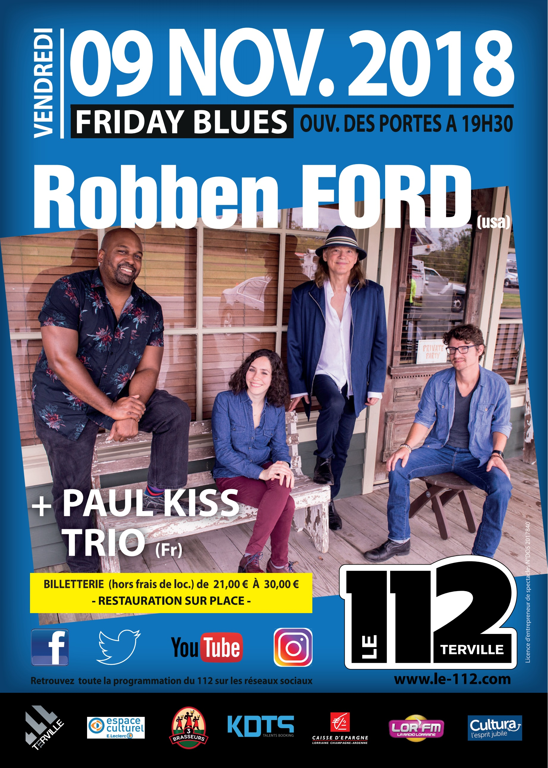 ROBBEN FORD + Guest
