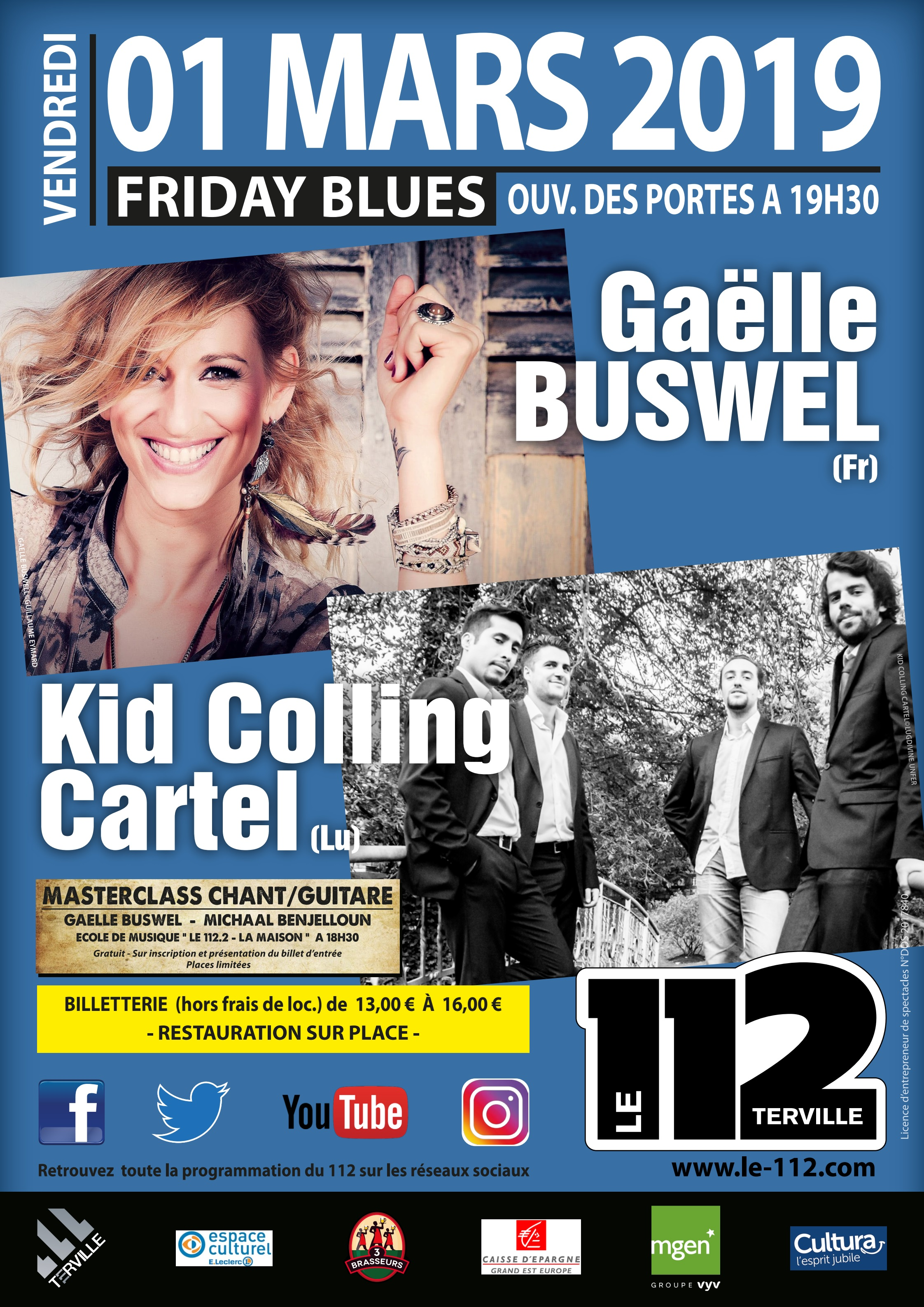 GAELLE BUSWEL + KID COLLING CARTEL