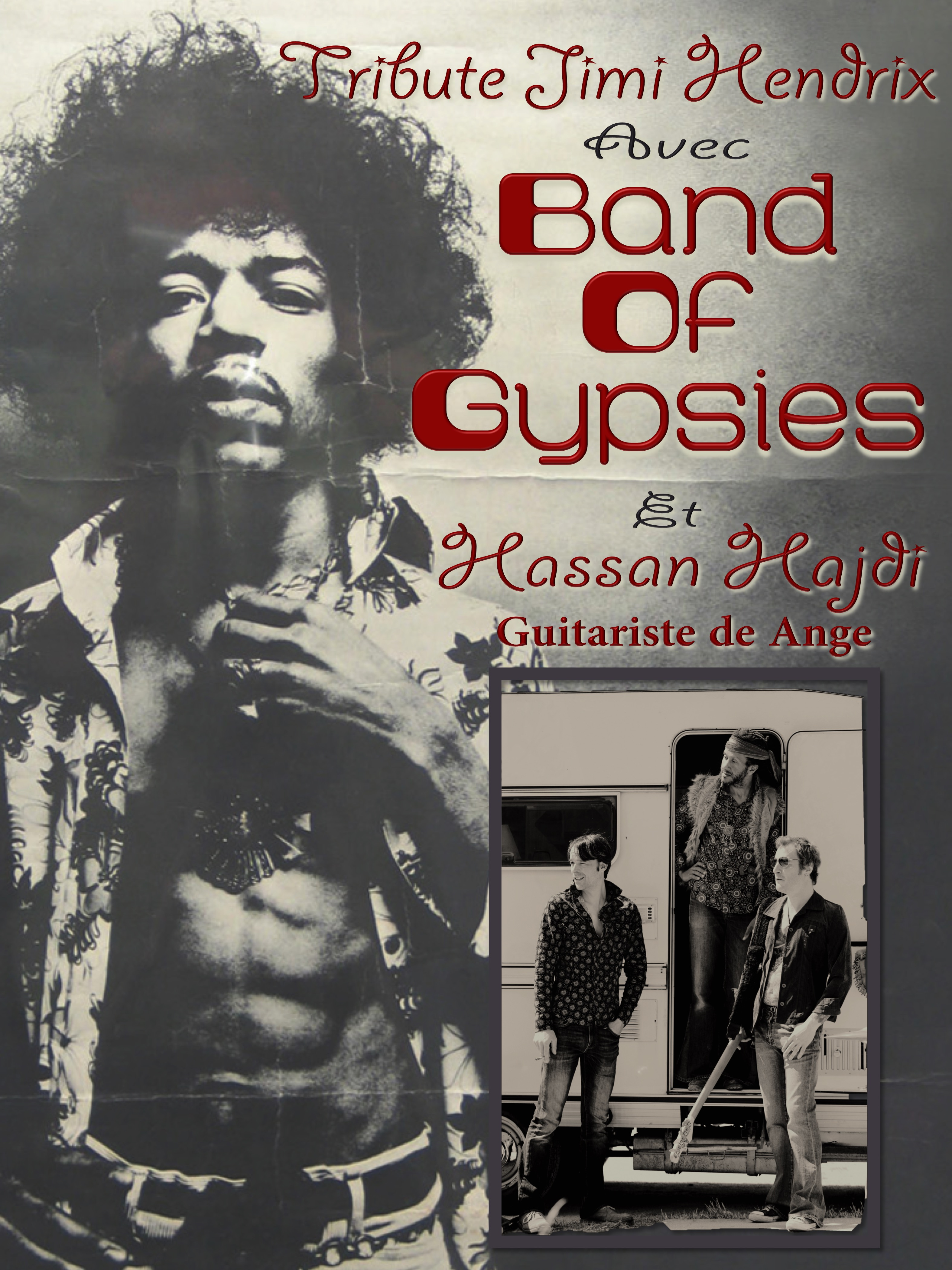 Affiche Band Of Gypsies